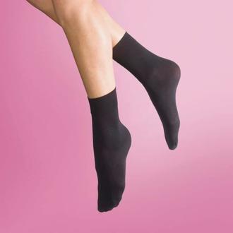 ponožky (3 páry - punčochové) LEGWEAR - 40 denier opaque - black, LEGWEAR