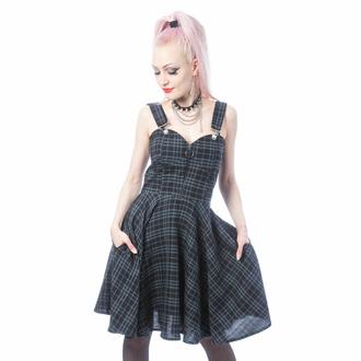 šaty dámské HEARTLESS - ZOSIA - GREY CHECK, HEARTLESS