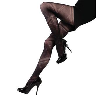 punčocháče LEGWEAR - Criss cross - Black, LEGWEAR