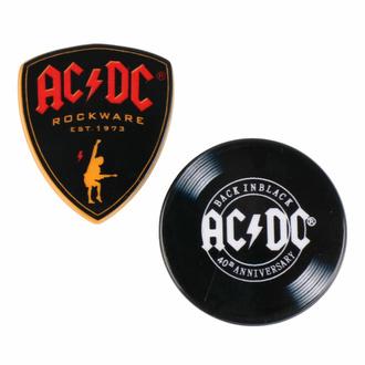 placka (set 2ks) AC/DC, CERDÁ, AC-DC