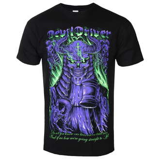 tričko pánské Devildriver - Neon Judge - Black, NNM, Devildriver