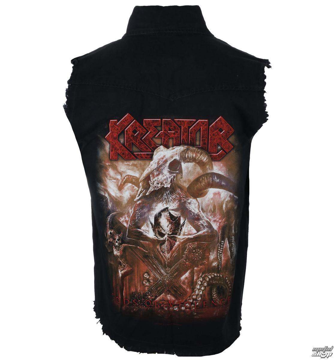 košile pánská bez rukávů (vesta) KREATOR - GODS OF VIOLENCE - RAZAMATAZ
