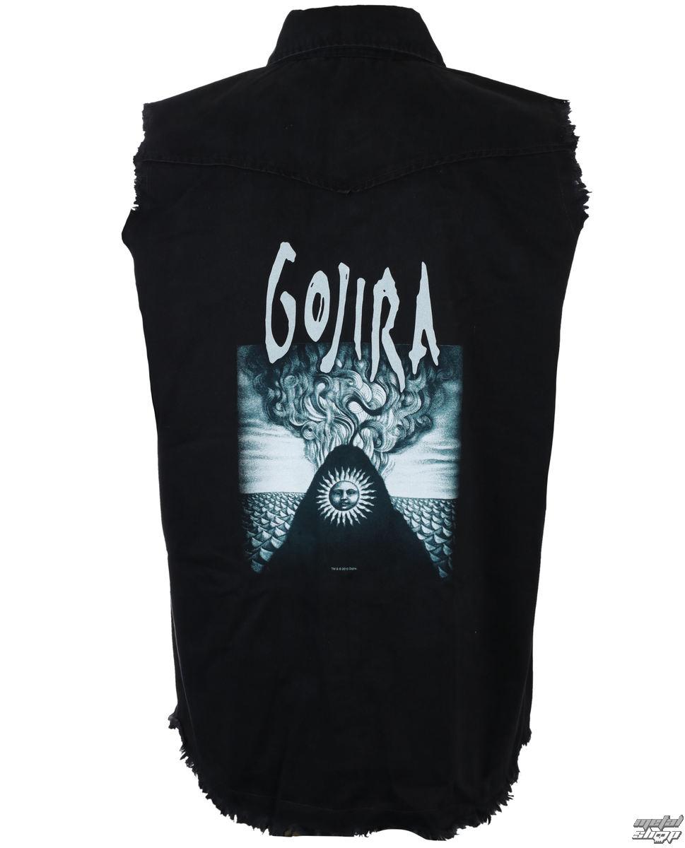 košile pánská bez rukávů (vesta) GOJIRA - MAGMA - RAZAMATAZ